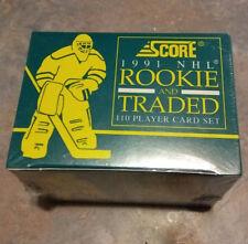 1991 Score Hockey Factory Set Rookie and Traded NIB Free Shipping