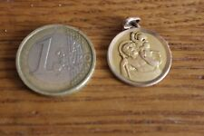 Ancienne Catholic Religieuse st christopher Medallion Inscription Nicolas