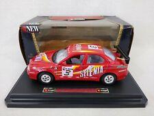 Bburago 1:24 1997 Alfa Romeo 156 Gran Turismo Die-Cast Car Selenia Free Postage