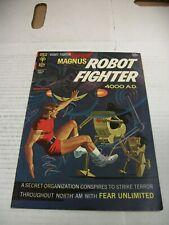Gold Key MAGNUS ROBOT FIGHTER #19 August 1967
