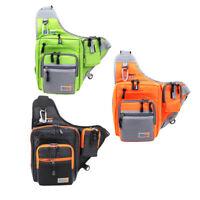 32*39*12CM iLure Fishing Bag Waterproof Canvas Fishing Reel Lure Tackle Bag R0T0