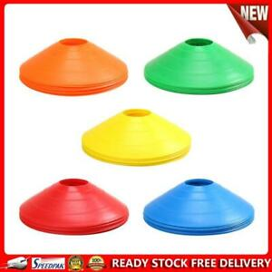 10pcs/lot Sign Disc Outdoor Soccer Cross Speed Agility Training Discs Cone