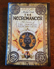 RARE SIGNED & LINED 1st/1st Michael Scott NECROMANCER Secrets Nicholas Flamel #4