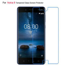 Premium 9H Hardness Tempered Glass Film Screen Protector For Nokia 8 Transparant