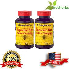 SUPREME BEE POLLEN COMPLEX PLUS POWERFUL BOOST IMMUNE DIET SUPPLEMENT 240 TABS
