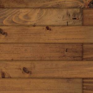 Dolls House Dark Pine Floorboards Miniature 1:12 Flooring Gloss Card Sheet