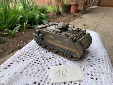 Modellbaupanzer Kettenfahrzeug gebaut vermutlich amerikanischer Panzer WK2
