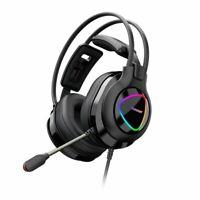 Tronsmart Glary Alpha Gaming RGB Headset 3,5 mm mit Mikrofon und Fernbedienung