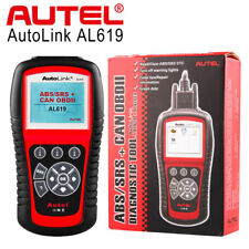 Autel Autolink AL619 OBD2 Diagnostic Tool CAN OBDII Code Reader SRS ABS Airbag