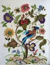 'Meadow Swete' a Crewel Embroidery kit from Needlewoman Studio