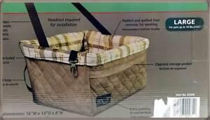 SOLVIT Tagalong DELUXE Hundesitz PetSafe Gr.L (bis 8 kg) Hunde Autositz Tasche