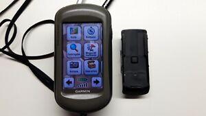 Garmin Outdoor GPS-Handgerät Oregon 550 mit eingebaute Kamera, mit Zubehör.
