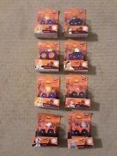 8) Fisher Price Little People Disney Princess HALLOWEEN Wheelies, New In Package
