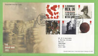 G.B. 2015 The Great War set on Royal Mail First Day Cover, Tallents House