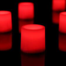 12 Red del Bougie Lumières Constant flamme fonctionne à piles par PK Green