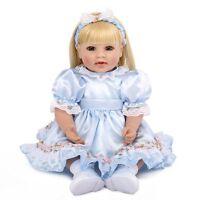 "Reborn Baby Girl Doll 20"" Toddler Bebe Vinyl Silicone Likelife Newborn Gift 2019"