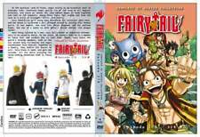 DVD FairyTail Final Eps 278-328 End. Dual Audio. English Dub