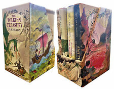 J. R. R. Tolkien The Tolkien Treasury Collection 4 Books Box Gift Set