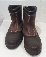Sorel Boots Men Women Size 7 FEM Brown Liner Excellent Unisex ?