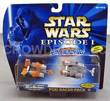Star Wars Episode 1 Pod Racer Pack II Micro Machines Rare 1st Edition NiB Galoob