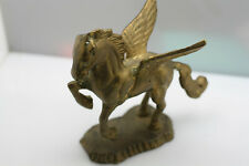 Vintage Brass pegasus horse winged small figurine decorative collectible