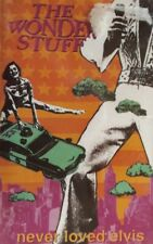 The Wonder Stuff-Never Loved Elvis Cassette.1991 Polydor 8472524.Size Of A Cow+