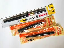 Pentel Calligraphy/Japanese FUDE brush/Medium type/with 2 Ink cartridge/Cartoon