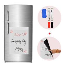 "17"" x 12""Refrigerator Dry Erase Magnetic Blank White Board Flexible Plan Me"