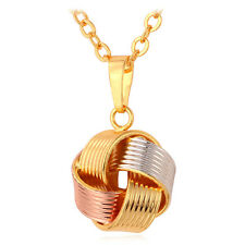 Sepak Takraw Ball Pendant Necklace Mix Color Gold Plated Fashion Women Jewelry