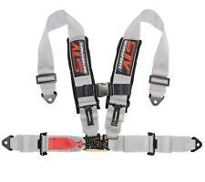 "Stv Motorsports Racing Safety Seat Belt Harness Gray 4 Point 2"" Performance Sxs"