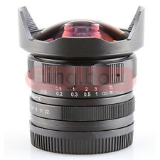 CL-Mil7528N APS-C 7.5mm F2.8 Fish-eye Wide Angle Lens For Canon EF-M EOS M M2 M3