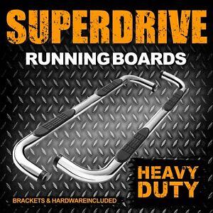 "For 2009-2018 DODGE RAM 3"" Steel Running Board 1500 Quad Cab SIDE STEP BAR B1"