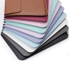"""PU Leather Envelop Laptop Sleeve Carry bag Case For Macbook Air Retina 11""""13""""15"""