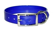"New listing Blue SunGlo Collars Dog Collar 23"""