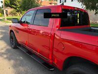 Fits Dodge Ram 1500/2500 Rear Sliding Window Tailgate Trim Molding Shiny Black