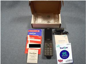 Burner / Prepaid Phone ● Complete ● Alcatel Flip Phone & 3 Month Service Plan