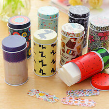 Korea Cute Aartoon Waterproof Bandage Band-Aid Tin Breathable Hemostatic PasteWF