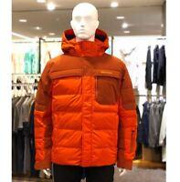 Marmot Men's Shadow 700 Fill down Jacket MSRP $350 [Orange, Yellow]