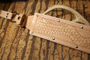 Custom { THICK Leather-MACHETE/SMALL SWORD/LONG KNIFE }Sheath-USA-universal!