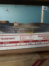 """Starrett Powerband Matrix Ii 14' 11"""" x 1 x .035 x 4-6/s Variable Pitch"""
