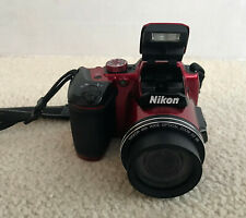 Nikon B500 Nikon Coolpix Red 16 MP Camera