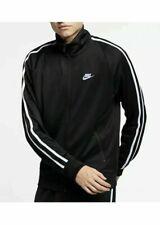 Men's LARGE Nike N98 Tribute Full Zip Sportswear Warm Up Jacket AR2244 010 Black