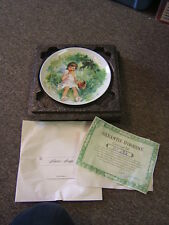 """Limoges Collector Plate The Durand's Children Collection """"Marie-Ange"""" 1978 Vgc"""