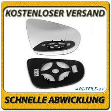 spiegelglas für VW GOLF 6 2009-2012 rechts asphärisch beheizbar beifahrerseite