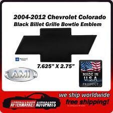 04-12 Chevy Colorado Black Powder Coat Billet Bowtie Grille Emblem AMI 96042K
