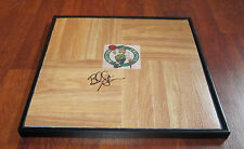 BRAD STEVENS HAND SIGNED & FRAMED BOSTON CELTICS LOGO FLOOR TILE W/COA