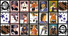 1981 O-Pee-Chee NHL Hockey Sticker Complete Set of 269 Denis Savard Kurri Rookie