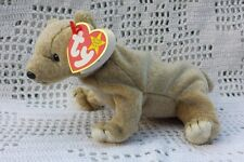 Almond the Bear Ty Original Beanie Babies Retired April 14 - 1999 MWMT