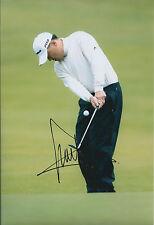 Charlie WI SIGNED AUTOGRAPH Golf 12x8 Photo AFTAL COA PGA Tour South Korean
