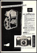 LA CONTAFLEX ZEISS IKON REFLEX A SPECCHIO SEZIONE MACCHINA FOTOGRAFICA 1956